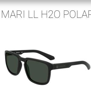 Dragon Mari H20 Polar Matte Black Sunglasses New